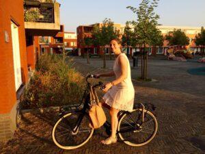 sophie-op-de-fiets